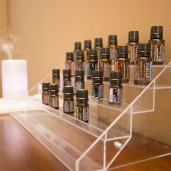 We use essential oils at Forte Massage and Spa